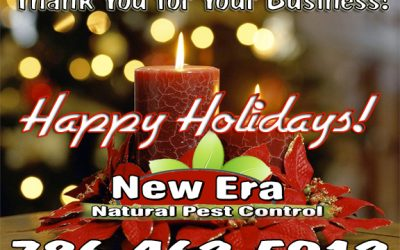 HAPPY HOLIDAYS TO OUR CUSTOMERS – From New Era Pest Control