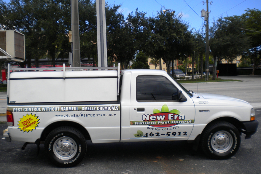 New Era Pest Control Truck - 786.462.5912
